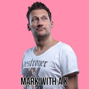 Bubble Blend 1st Edition 14-10-2017 artist Mark with AK Mark Carpentier